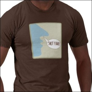 Snot Funny t-shirt