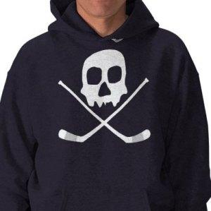 Skull Hockey T-shrt