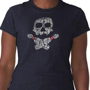 Skull and Bowling Pins