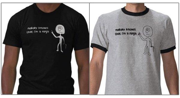 Funny Ninja T-shirt
