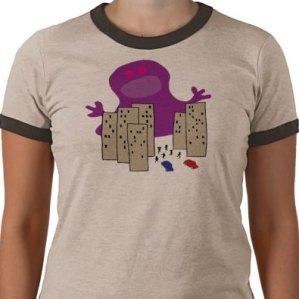 Blob Attack T-shirt