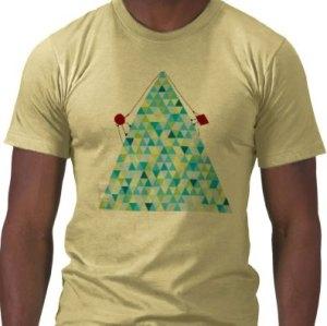 Race Up Triangle Mountain t-shirt