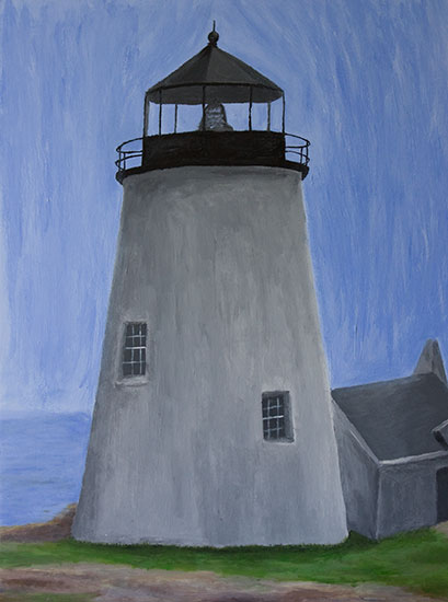 Pemaquid Lighthouse Painting