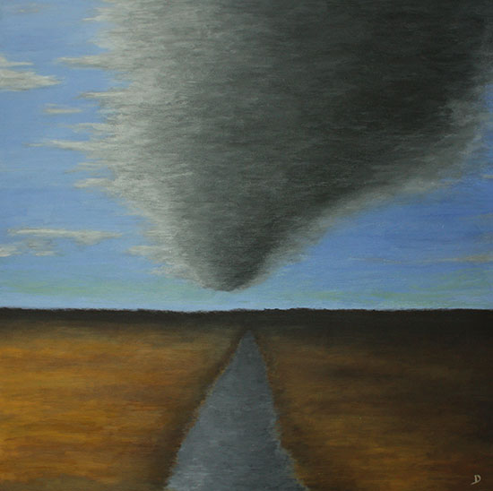 Dark Cloud Passing painting