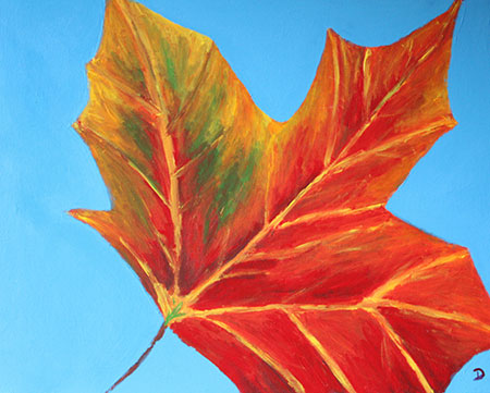 Leaffall painting