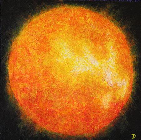 Small Sun Painting