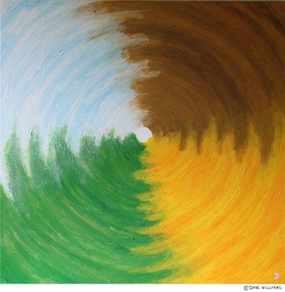 Seasons Vortex painting