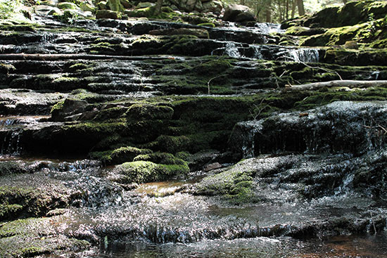 Stepping Stones Waterfall