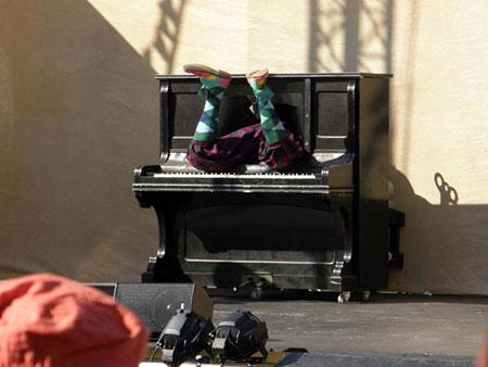 Piano Man by John Nixon