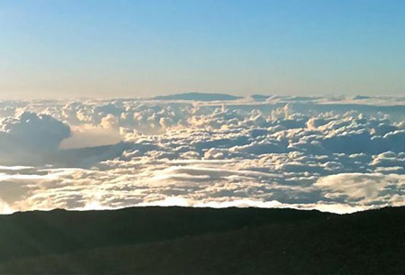Photo of above clouds, by Douglas M. MacIlroy