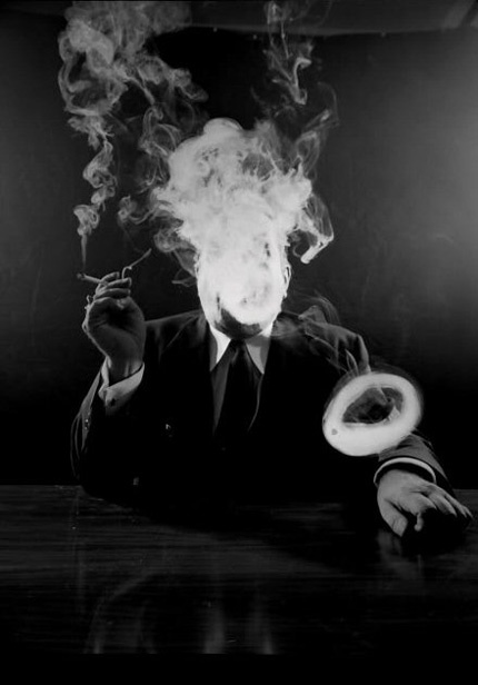 Man Smoking by Design Observer