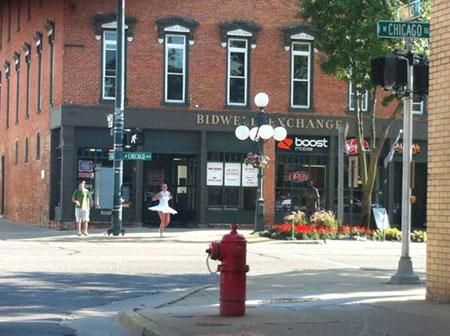 Street corner, by Renee Heath