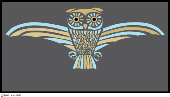 Owl Totem graphic