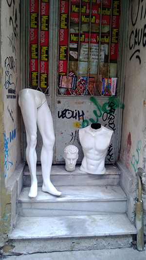 Mannequin parts by Sean Fallon